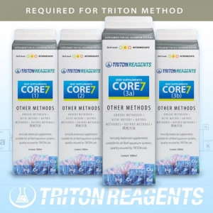 Triton SET Core7 Reef Supplements 4x1000ml (inne metody)